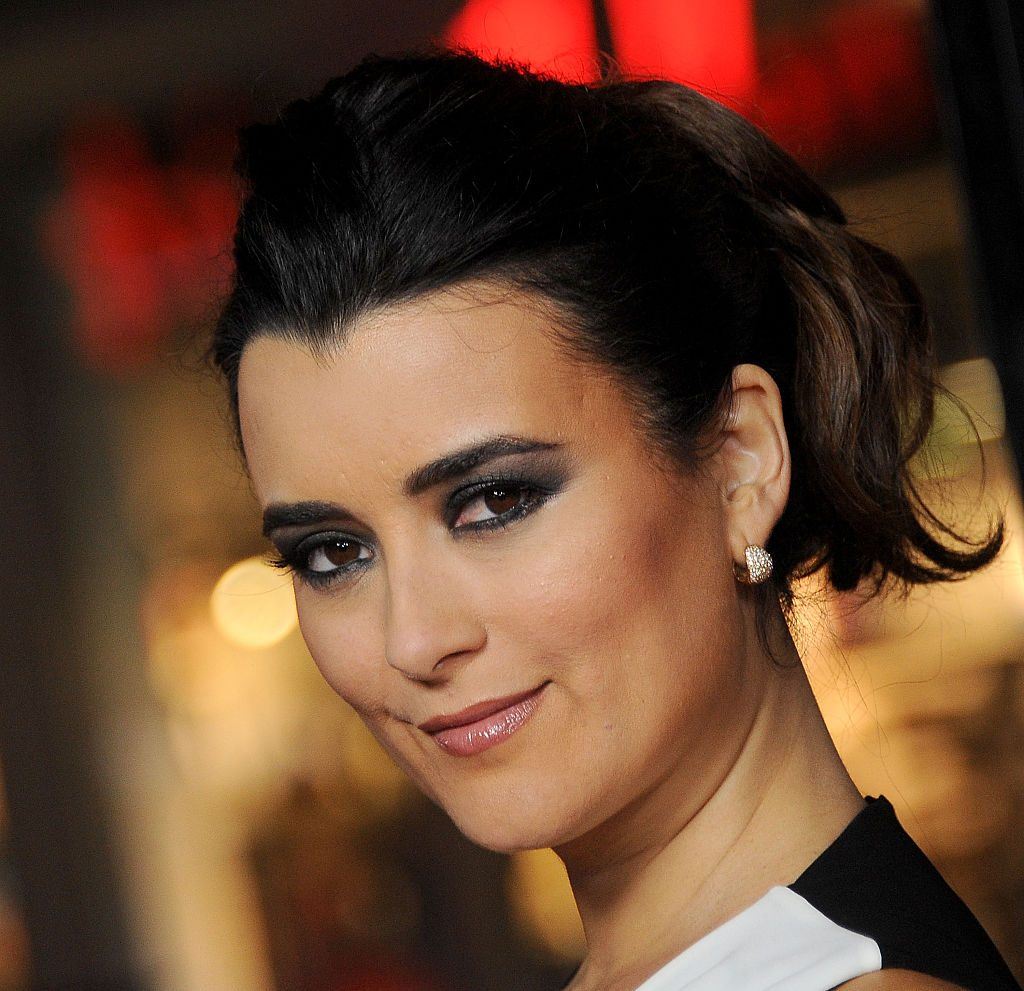 Cote de Pablo starring right at you