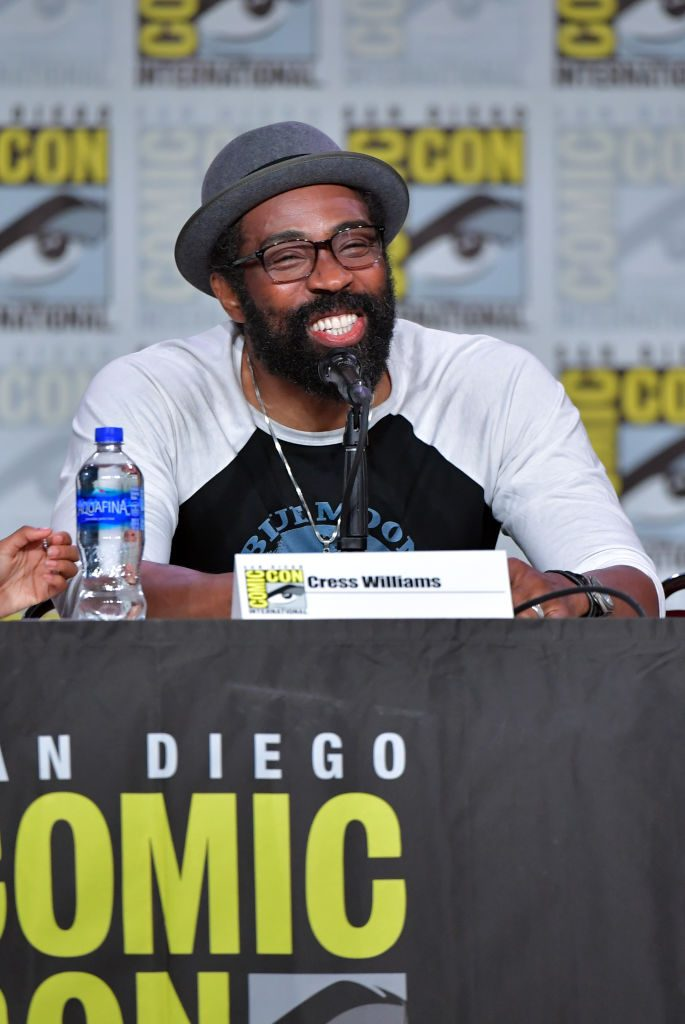 Cress Williams at Comic Con Black Lightning Q & A