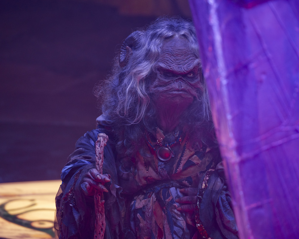 Aughra in the Dark Crystal: Age of Resistance