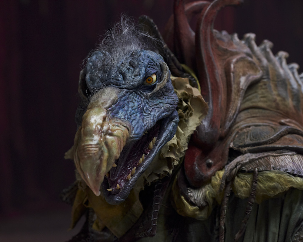Skektek in the Dark Crystal