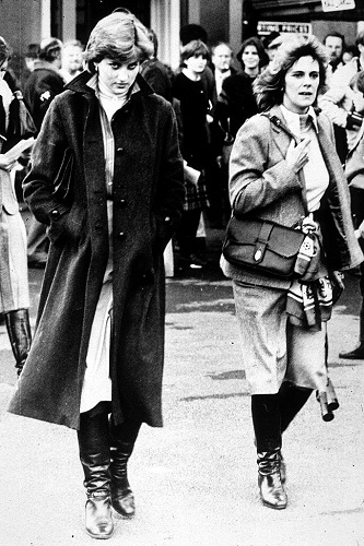 Lady Diana Spencer and Camilla Parker Bowles