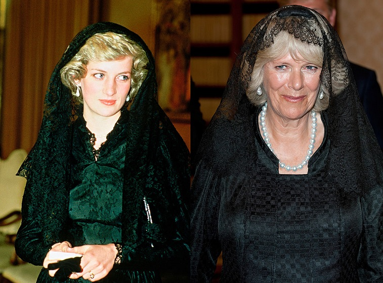 A comparison between Diana, Princess of Wales and Camilla, Duchess of Cornwall