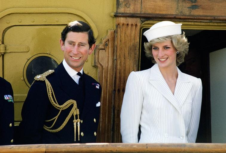 The Prince and Princess of Wales