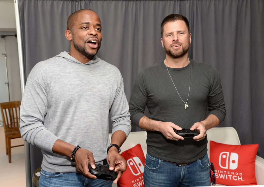 Dule Hill and James Roday from Psych