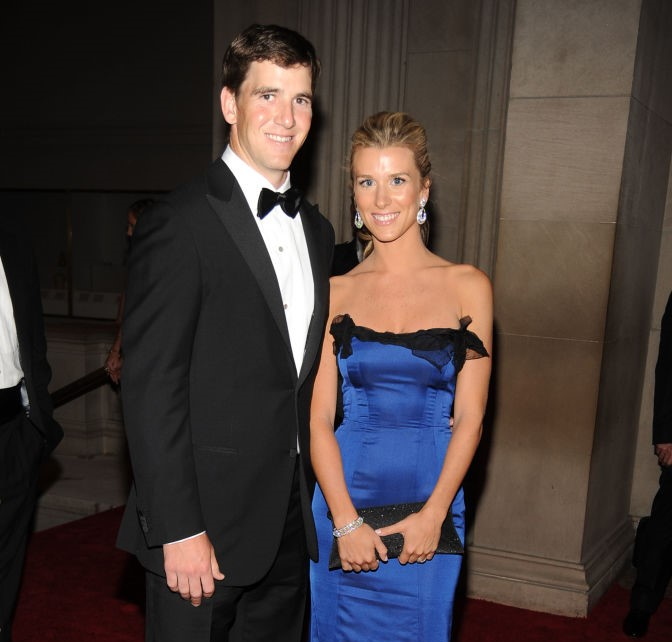 Eli Manning and Abby McGrew Manning