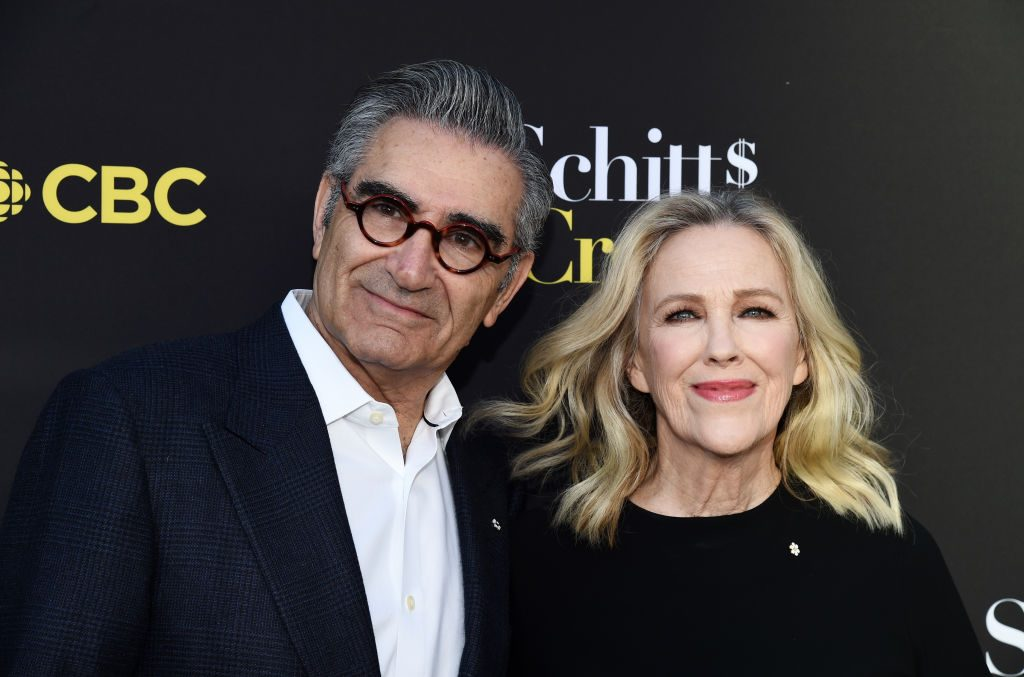 Eugene Levy (L) and Catherine O'Hara of 'Schitt's Creek'