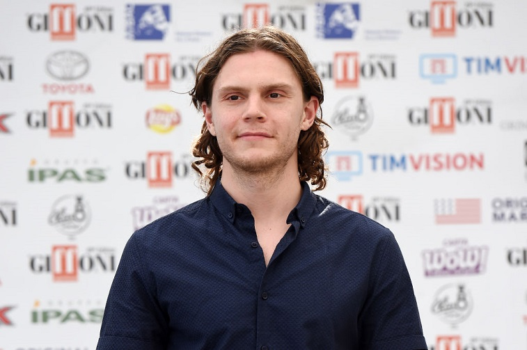 Evan Peters at a film festival