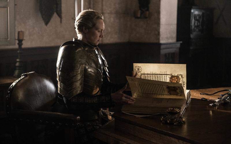Gwendoline Christie as Brienne of Tarth on 'Game of Thrones'