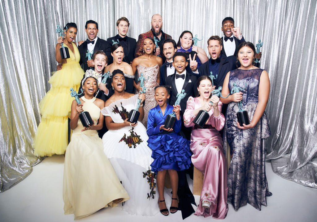 'This Is Us' cast at the Screen Actors Guild Awards