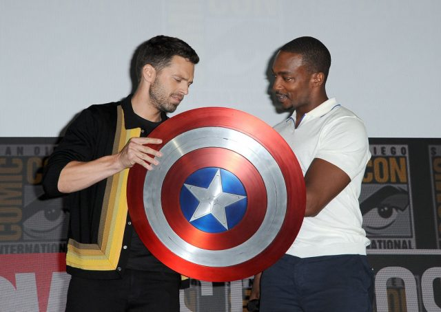 Anthony Mackie new Captain America