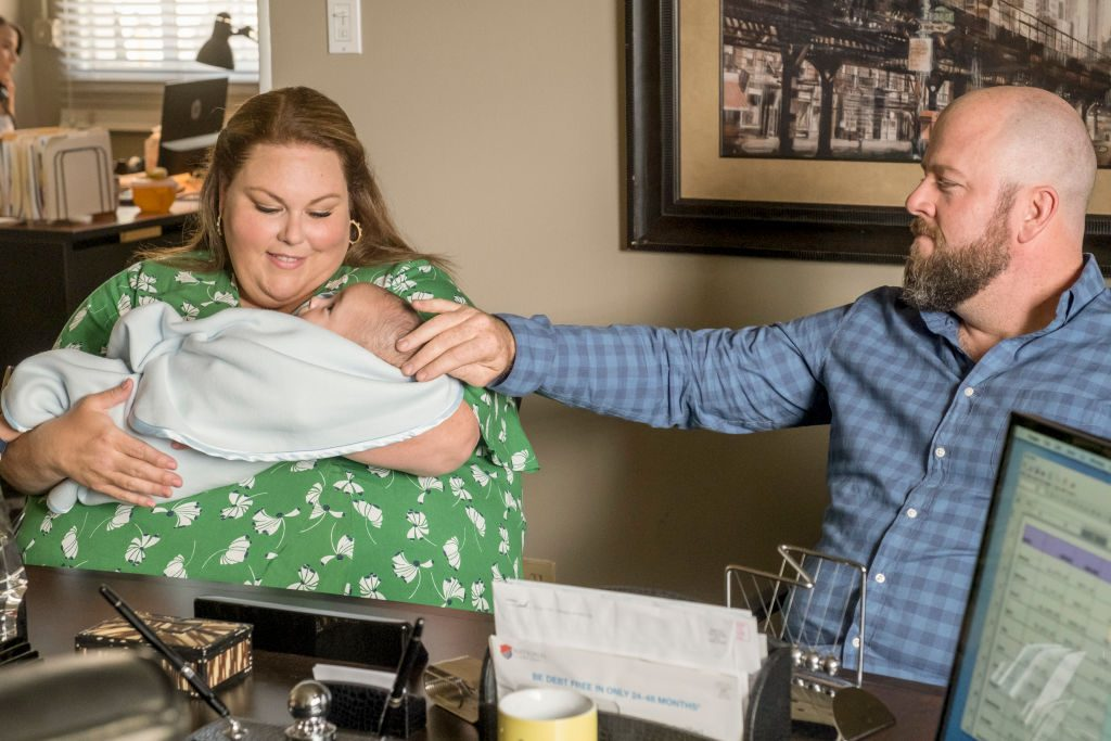 Chrissy Metz as Kate and Chris Sullivan as Toby on 'This Is Us'