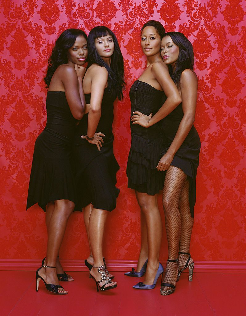 The cast of 'Girlfriends'