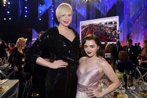 2019 Emmys: Outstanding Supporting Actress in a Drama May Come Down to Arya Stark vs. Brienne of Tarth