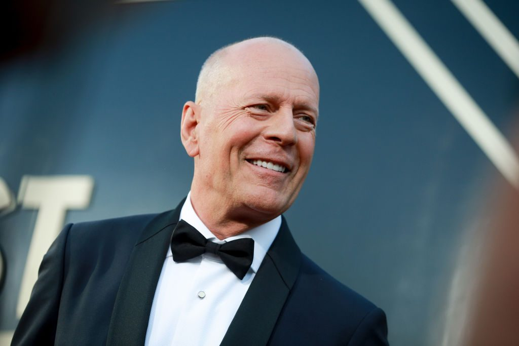 Bruce Willis attends the Comedy Central Roast of Bruce Willis at Hollywood Palladium.