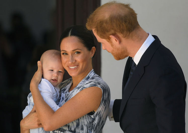 Prince Harry, Megan Markle and Archie