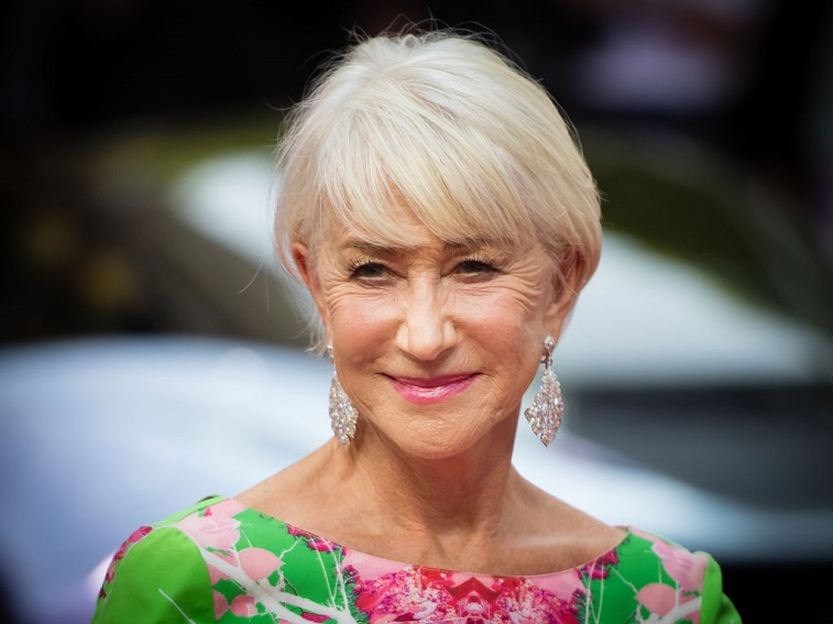 Dame Helen Mirren attends a screening