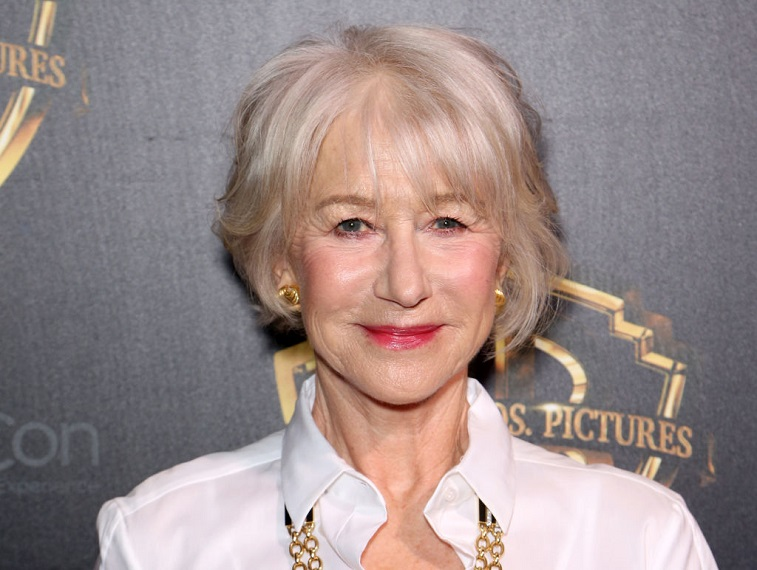 Dame Helen Mirren attends 'The Big Picture'