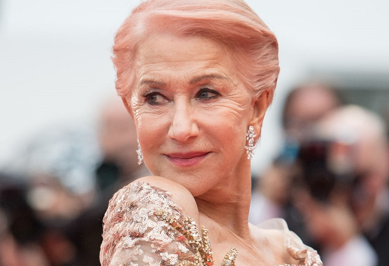 Dame Helen Mirren attends the screening of 'Les Plus Belles Annees D'Une Vie'