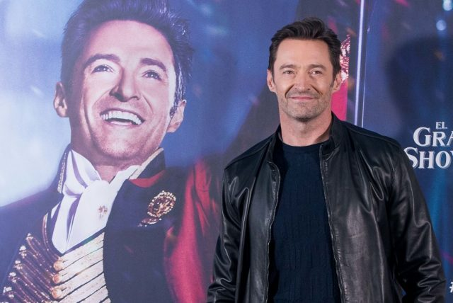 Hugh Jackman at 'The Greatest Showman' photocall in 2017.