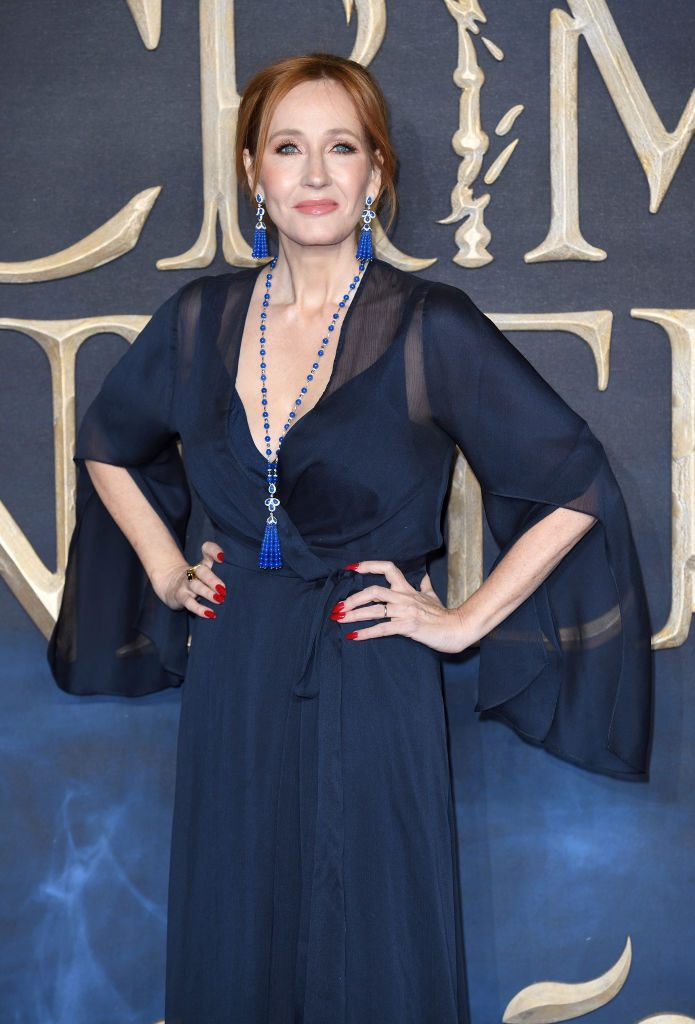 JK Rowling at the Fantastic Beasts: The Crimes of Grindelwald premiere
