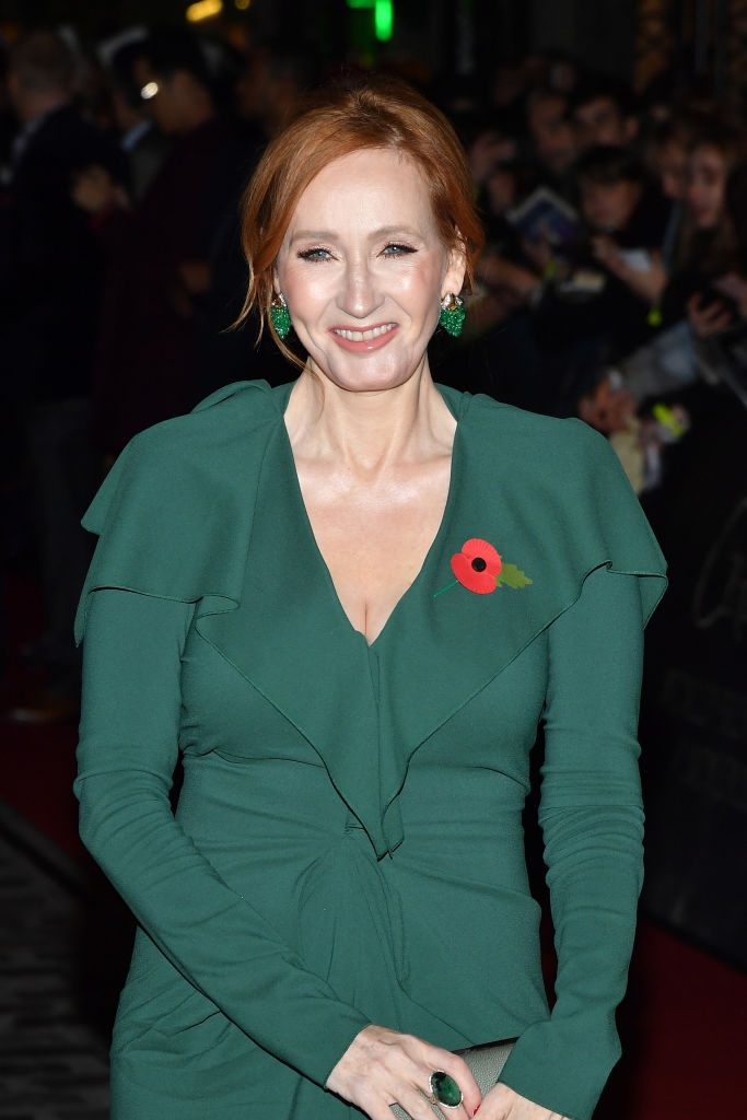 JK Rowling at the Fantastic Beasts: The Crimes of Grindelwald World premiere