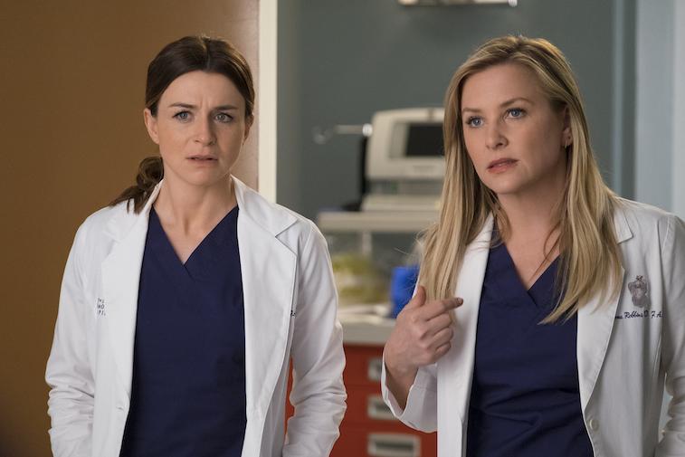 Caterina Scorsone and Jessica Capshaw