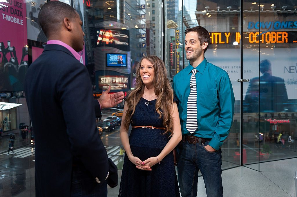 AJ Calloway interviews Jill Duggar Dillard and husband Derick Dillard