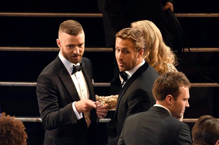 Justin Timberlake and Ryan Gosling