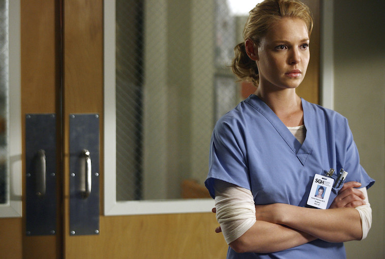 Katherine Heigl Grey's Anatomy