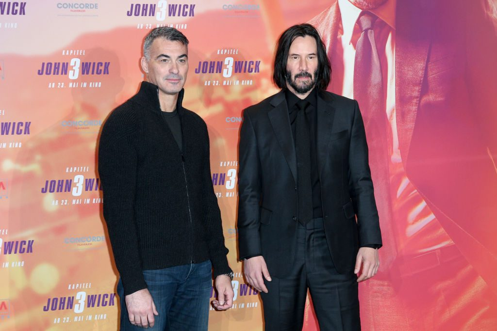 Keanu Reeves and Chad Stahelski