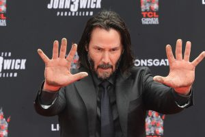 Keanu Reeves Learned This 'John Wick 3' Move in 3 Tries