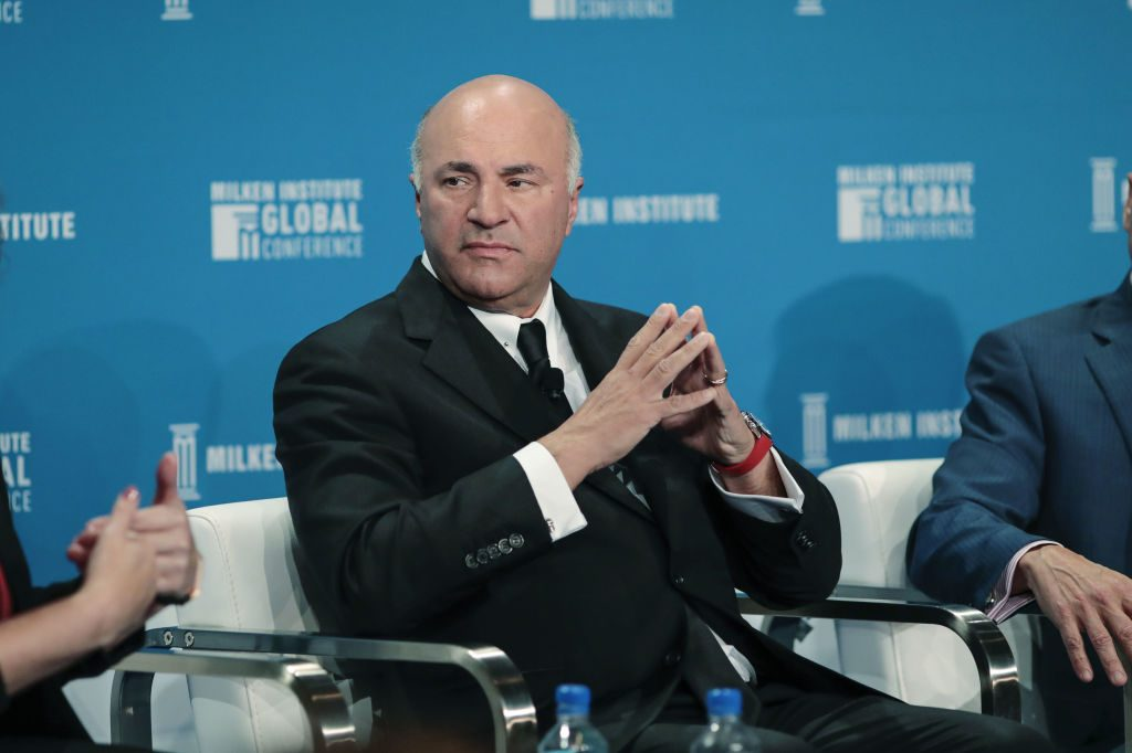 """Shark Tank's"" Kevin O'Leary at Milken Institute Global Conference"