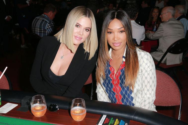 Khloé Kardashian and Malika Haqq