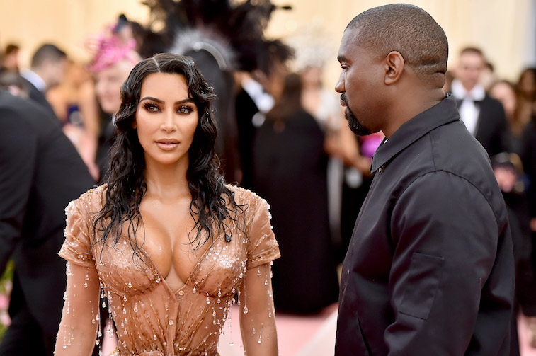 Kim and Kanye West talk parenting and twinning during Vogue Arabia interview