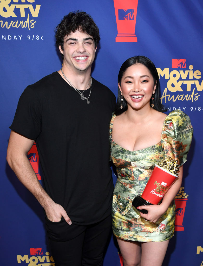 To All The Boys I've Loved Before Netflix cast (Noah Centineo and Lana Condor)  at the MTV movie and TV awards