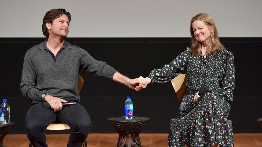 Jason Bateman and Laura Linney