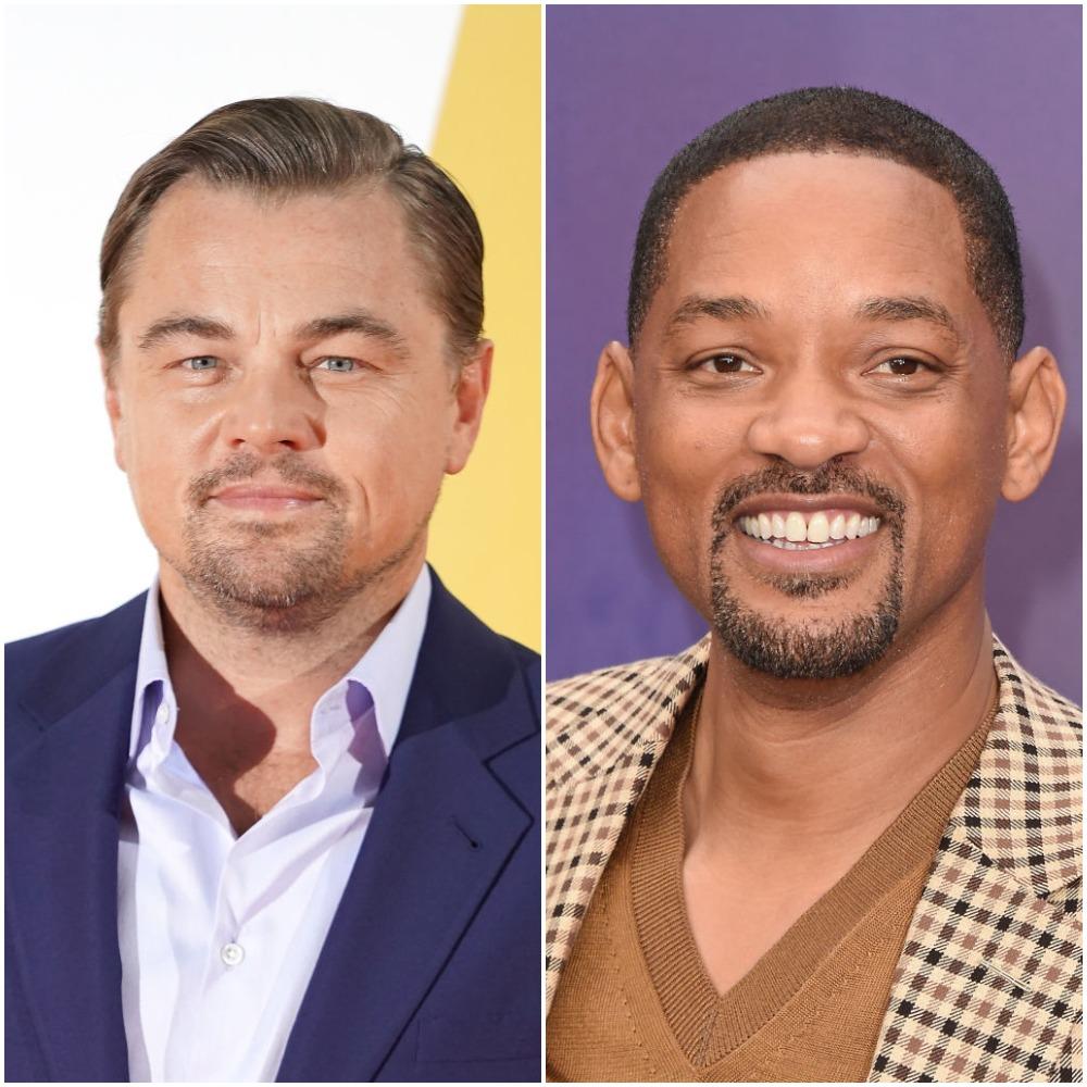 Leonardo DiCaprio and Will Smith