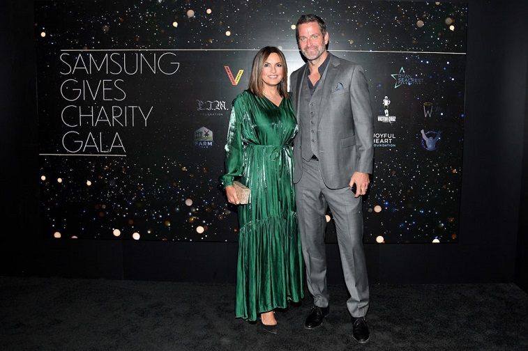 Mariska Hargitay and Peter Hermann