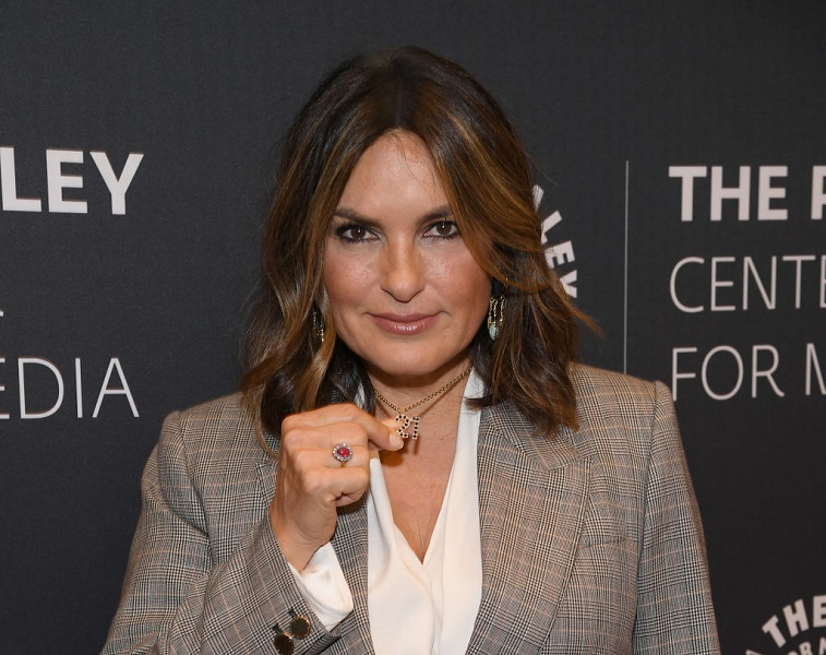 Mariska Hargitay attends the 'Law & Order: SVU' event