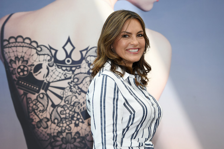 Mariska Hargitay at a film festival