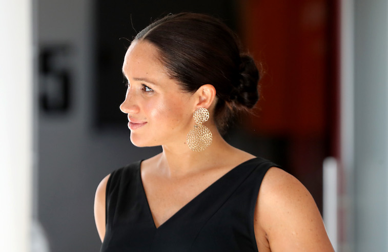 Meghan Markle attending an event in South Africa