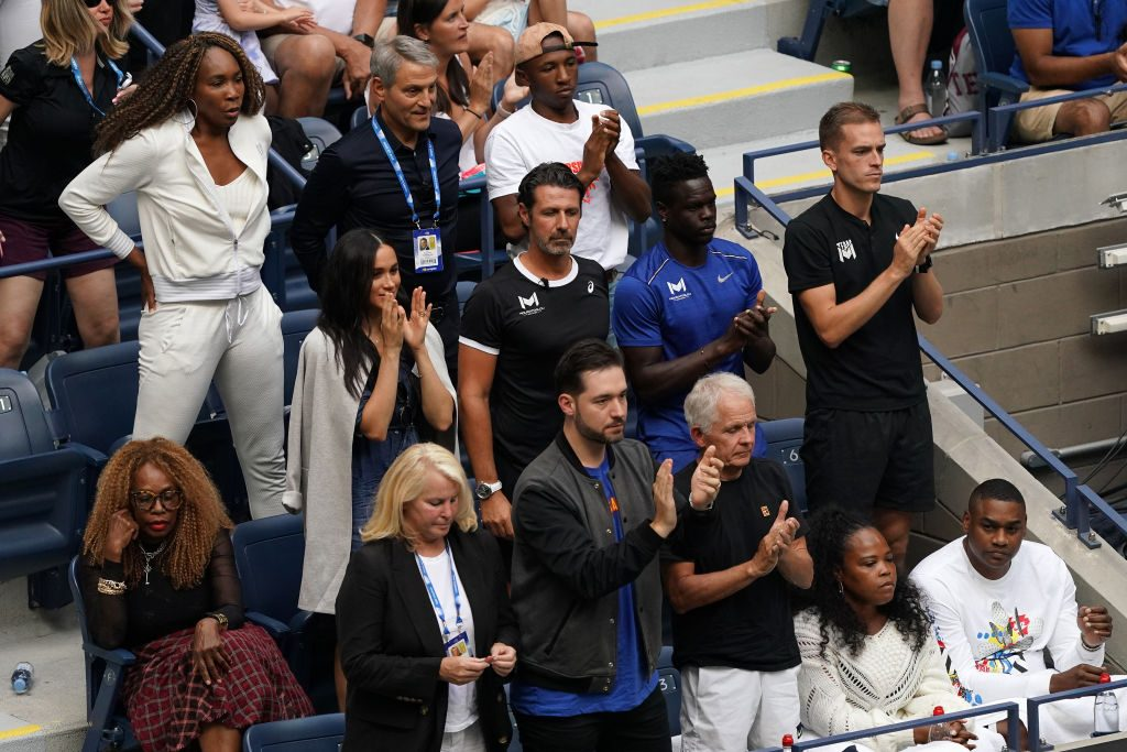 Meghan Markle at the U.S Open