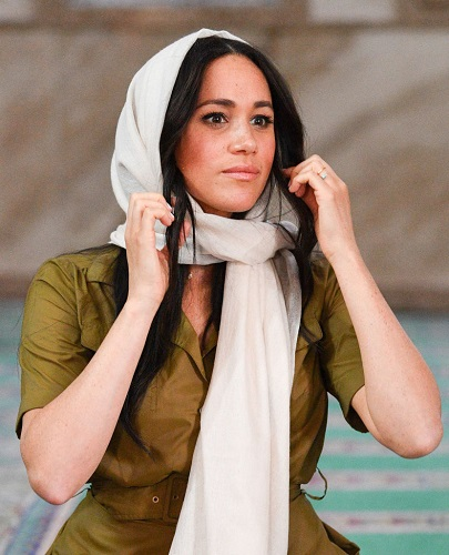 Meghan, Duchess of Sussex visits the Auwal Mosque