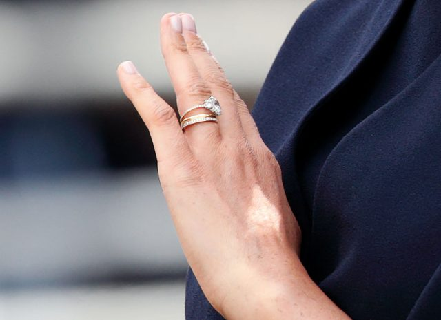 Meghan Markle updated ring