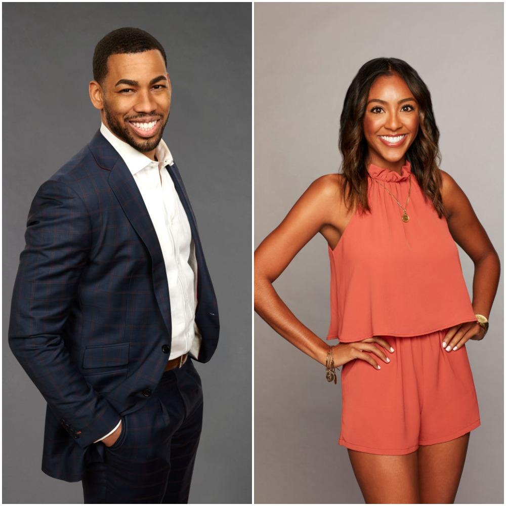 Mike Johnson and Tayshia Adams