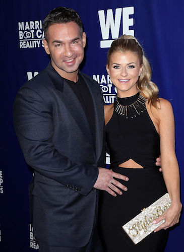 Mike 'The Situation' Sorrentino and his wife, Lauren Pesce
