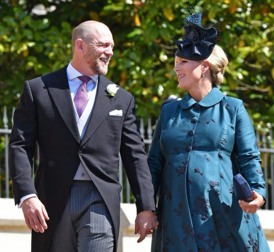 Mark Tindall and Zara Tindall