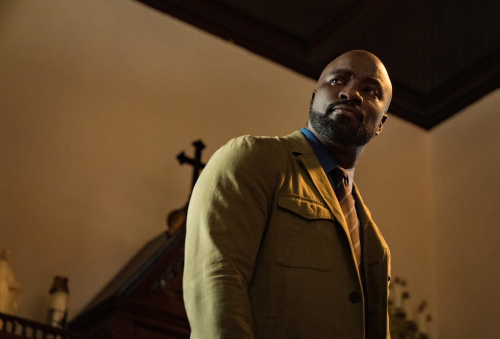 Mike Colter in Evil