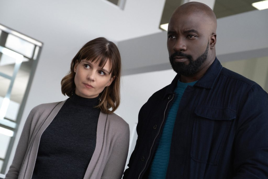 Mike Colter and Katja Herbers on Evil