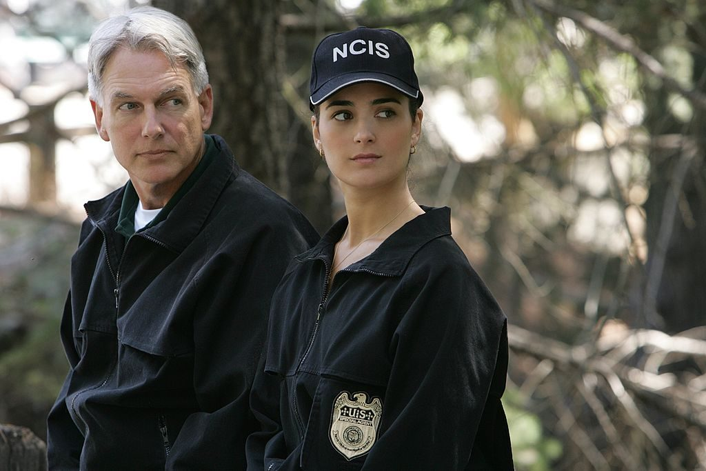 NCIS Mark Harmon and Cote de Pablo